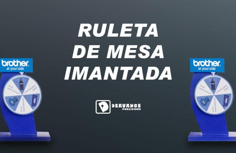 RULETA DE MESA IMANTADA🎡🧲
